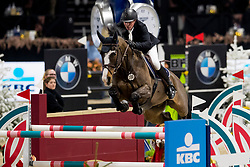 Van Olst Mike, BEL, Lavisto Star<br /> Jumping Mechelen 2019<br /> © Hippo Foto - Sharon Vandeput<br /> 28/12/19