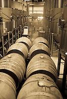 Wine processing at Terravant, Buelton CA