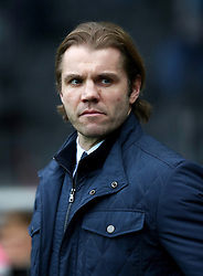 MK Dons manager Robbie Neilson during the Sky Bet League One match at Stadium mk, Milton Keynes.