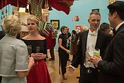HANNELI RUPERT, MAYA BINKIN, TIM MARLOW, RICHARD CHANG, RA Annual dinner 2018. Piccadilly, 5 June 2018.