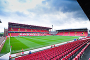 A general view of Oakwell Stadium before the EFL Sky Bet Championship match between Barnsley and Swansea City at Oakwell, Barnsley, England on 19 October 2019.