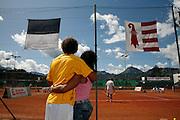 Grand Prix de la Gruyère, court de tennis, Bulle. Tenniscourt, Bulle.