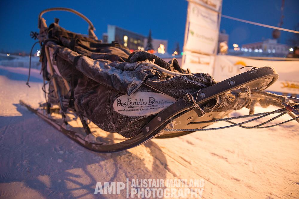 Cody Strathe's sled.