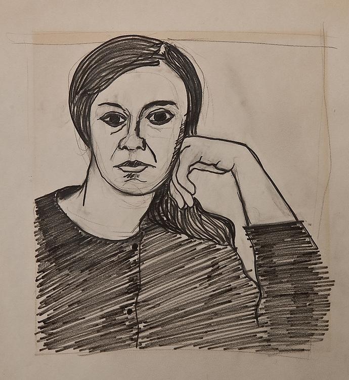 UNTITLED, felt pen 1965