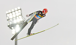 30.12.2011, Schattenbergschanze / Erdinger Arena, GER, Vierschanzentournee, FIS Weldcup, Probedurchgang, Ski Springen, im Bild Richard Freitag (GER) // Richard Freitag of Germany during the trial round at 60th Four-Hills-Tournament, FIS World Cup in Oberstdorf, Germany on 2011/12/30. EXPA Pictures © 2011, PhotoCredit: EXPA/ P.Rinderer