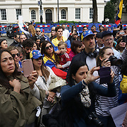Venezuelan protest against Nicolas Maduro, London,UK