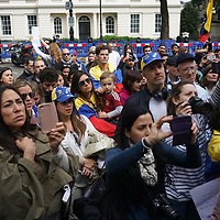 Venezuelan protest against Nicolas Maduro, London,UK