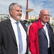 Jean-François Fountaine - Maire de La Rochelle et Alain Rousset - Président du Conseil régional d'Aquitaine