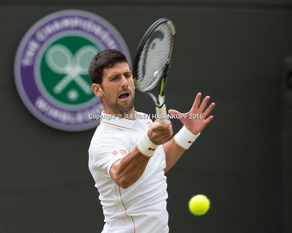 NOVAK DJOKOVIC (SRB)<br /> <br /> Tennis - Wimbledon 2016 - Grand Slam ITF / ATP / WTA -  AELTC - London -  - Great Britain  - 2 July 2016.