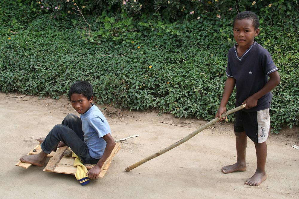 Children at play, Madagascar