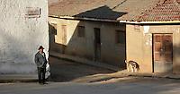 Street scenes in Moro Moro, Santa Cruz, Bolivia