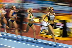 March 2, 2018 - Birmingham, England, United Kingdom - Kate Van Buskirk ofCanada at 1500 meter semi final at World indoor Athletics Championship 2018, Birmingham, England on March 2, 2018. (Credit Image: © Ulrik Pedersen/NurPhoto via ZUMA Press)
