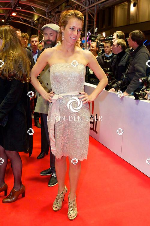 AMSTERDAM - In het Tuschinski theater is de nieuwe Nederlandse film 'Harten Straat' in premiere gegaan. Met op de rode loper   Marion Pauw. FOTO LEVIN DEN BOER - PERSFOTO.NU