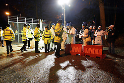 UK ENGLAND ALDERMASTON 27NOV06 - Activists from a wide variety of backgrounds protest against plans to upgrade the Trident missile system at the British Nuclear Weapons facility in Aldermaston. British Prime Minister Tony Blair has announced his intention to replace or upgrade the existing nuclear deterrent...jre/Photo by Jiri Rezac..© Jiri Rezac 2006..Contact: +44 (0) 7050 110 417.Mobile:  +44 (0) 7801 337 683.Office:  +44 (0) 20 8968 9635..Email:   jiri@jirirezac.com.Web:    www.jirirezac.com..© All images Jiri Rezac 2006 - All rights reserved.