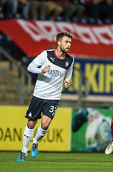 Falkirk's Rory Loy.<br /> Falkirk 0 v 5 Aberdeen, the third round of the Scottish League Cup.<br /> &copy;Michael Schofield.