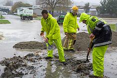 Christchurch-Water main burst at Cashmere High School