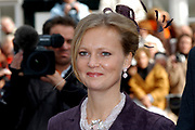 Zijne Hoogheid Prins Floris van Oranje Nassau, van Vollenhoven en mevrouw mr. A.L.A.M. Söhngen zijn zaterdag 22 oktober in de kerk van Naarden in het  huwelijk getreden. De prins is de jongste zoon van Prinses Magriet en Pieter van Vollenhoven.<br /> <br /> Church Wedding Prince Floris and Aimée Söhngen. <br /> <br /> Church Wedding Prince Floris and Aimée Söhngen in Naarden. The Prince is the youngest son of Princess Margriet, Queen Beatrix's sister, and Pieter van Vollenhoven. <br /> <br /> Op de foto / On the photo;<br /> <br /> Hare Koninklijke Hoogheid Prinses Carolina de Bourbon de Parme