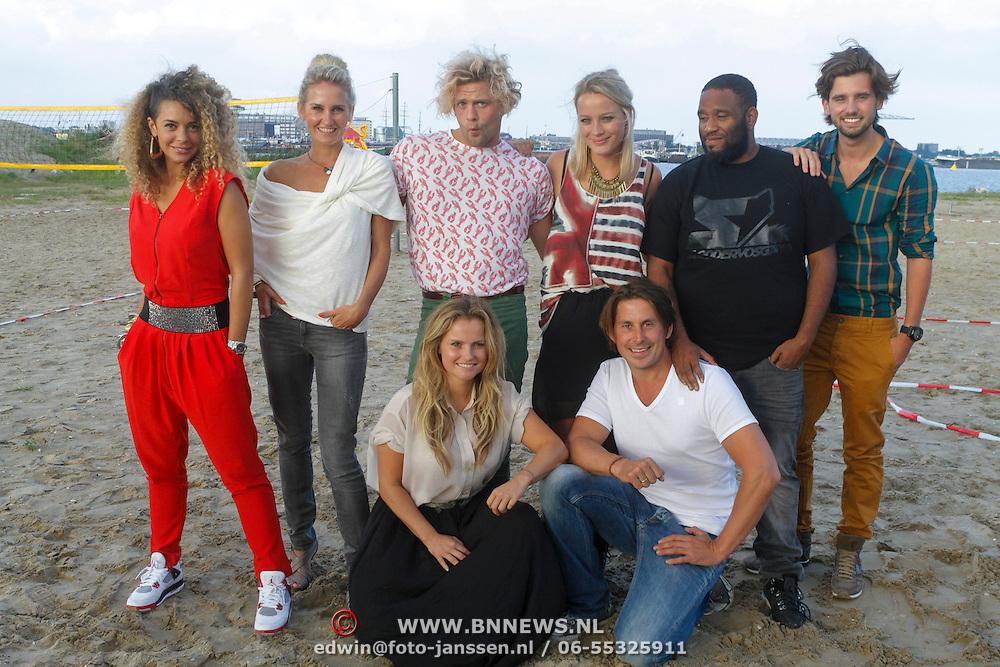 NLD/Amsterdam/20120903 - Presentatie Expeditie Robinson 2012, Nederlandse deelnemers
