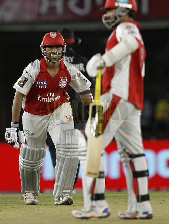 Kings XI Punjab Paul Valthaty during match 9 of the Indian Premier League ( IPL ) Season 4 between the Kings XI Punjab and the Chennai Super Kings held at the PCA stadium in Mohali, Chandigarh, India on the 13th April 2011..Photo by Pankaj Nangia/BCCI/SPORTZPICS