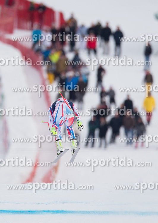 19.01.2016, Streif, Kitzbuehel, AUT, FIS Weltcup Ski Alpin, Kitzbuehel, 1. Abfahrtstraining, Herren, im Bild Adrien Theaux (FRA) // Adrien Theaux of France in action during 1st Training of the men's Downhill Race of Kitzbuehel FIS Ski Alpine World Cup at the Streif in Kitzbuehel, Austria on 2016/01/19. EXPA Pictures © 2016, PhotoCredit: EXPA/ Johann Groder