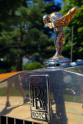 2018 Champagne British Car Festival held on Clover Lawn at David Davis Mansion in Bloomington IL<br /> <br /> Rolls Royce