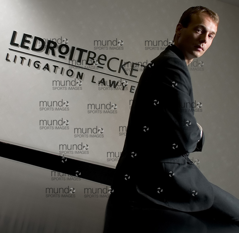 Stratford, Ontario ---06/8/31--- London Lawyer Rob Talach of LeDroit Beckett&amp;#xA;GEOFF ROBINS Law Times<br />