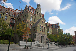 College Hall, designed by Thomas Webb Richards, University of Pennsylvania, Philadelphia, Pennsylvania, United States of America