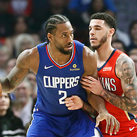 11-24 NEW ORLEANS PELICANS AT LA CLIPPERS