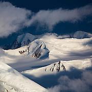 Sunrise over the dramatic Saint Elias mountains in Kluane National Park near the Alaska-Yukon border.
