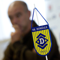 20111013: SLO, Football - Press conference of NK Domzale