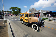 UNITED STATES-CAPE COD-Classic car. PHOTO: GERRIT DE HEUS.VS-CAPE COD-PROVINCETOWN-Klassieke auto. PHOTO GERRIT DE HEUS