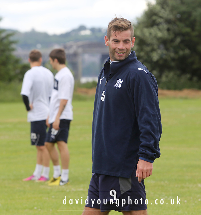 Peter McDonald - Dundee FC - First day of pre-season training<br /> <br />  - &copy; David Young - www.davidyoungphoto.co.uk - email: davidyoungphoto@gmail.com