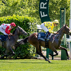 Over Reacted (I. Mendizbal) wins Prix de La Croix Des Veneurs Longines Presente par Le Figaro Magazine, Chantilly, France 18/06/2017, photo: Zuzanna Lupa / Racingfotos.com