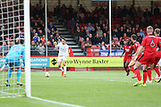 Luton Town Forward Alex Gilliead during the EFL Sky Bet League 2 match between Crawley Town and Luton Town at the Checkatrade.com Stadium, Crawley, England on 17 September 2016. Photo by Phil Duncan.