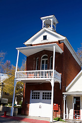 Firehouse No. 2, Broad Street, Nevada City, California, United States of America
