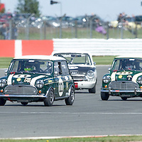 #11, Austin Mini Cooper S (1965), Jonathan Lewis (GB), Silverstone Classic 2015, Warwick Banks Trophy for Under 2 Litre Touring Cars (U2TC). 25.07.2015. Silverstone, England, U.K.  Silverstone Classic 2015.