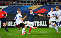But Corentin TOLISSO - 25.03.2015 - Football Espoirs - France / Estonie - Match Amical -Valenciennes<br /> Photo : Dave Winter / Icon Sport
