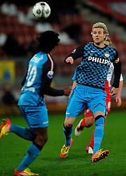 22-01-2012 VOETBAL: FC UTRECHT - PSV: UTRECHT<br /> Utrecht speelt gelijk tegen PSV 1-1 / Ola Toivonen<br /> ©2012-FotoHoogendoorn.nl