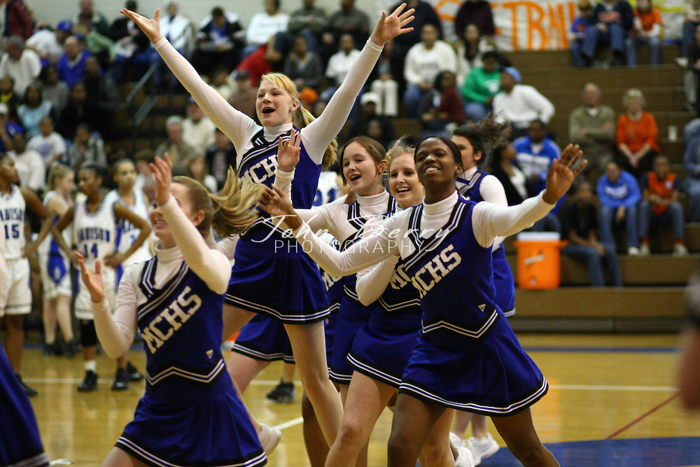 MCHS Varsity Girl's Basketball.vs Orange.1/12/2008.