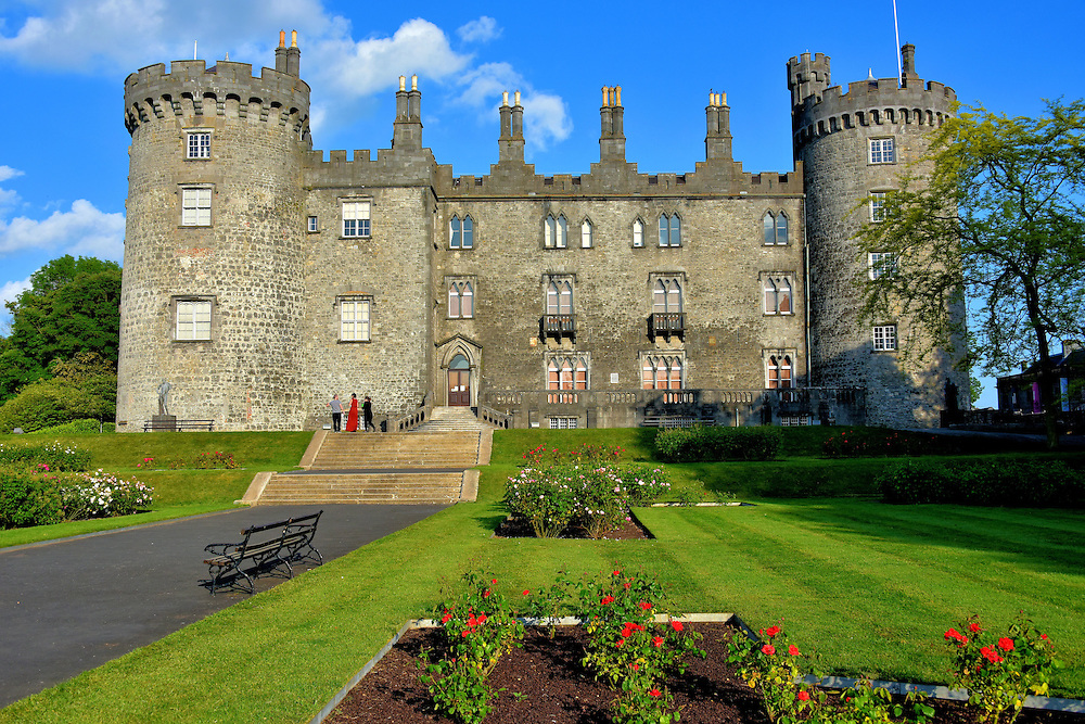 History of kilkenny castle in kilkenny ireland encircle for Garden design kilkenny