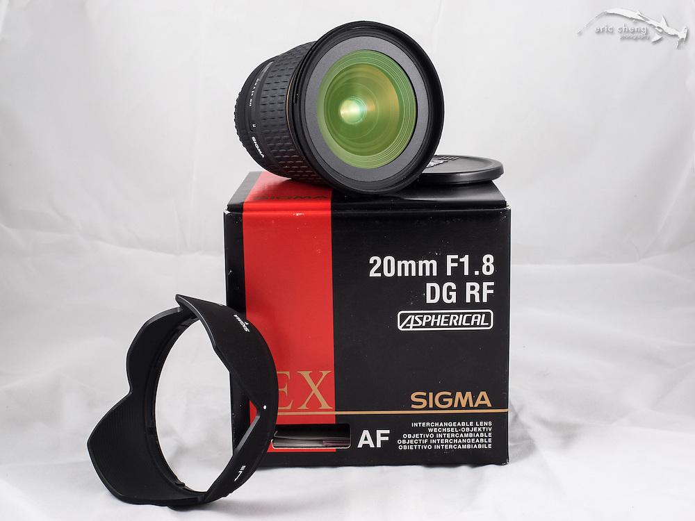 Sigma 20mm f/1.8 DG RF Aspherical