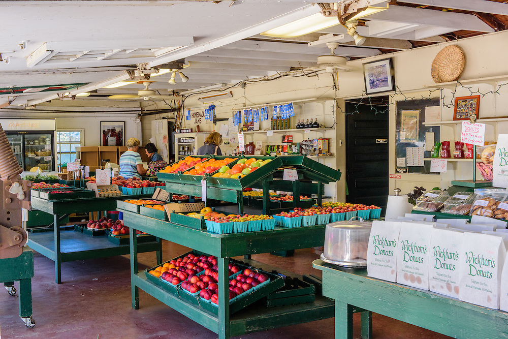 Wickham's Fruit Farm, Cutchogue, NY
