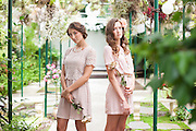 SS14 Lookbook for Lizi at the Shelldance Orchid Pavilion in Pacifica, CA