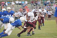 Water Valley vs. Pope in 7th and 8th grade football action in Water Valley, Miss. on September 28, 2010.