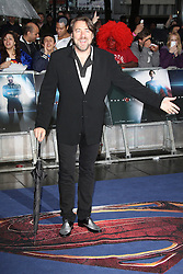 © Licensed to London News Pictures. 12/06/2013. London, UK Jonathan Ross;  Man of Steel European Film Premiere, Leicester Square London UK, 12 June 2013. Photo credit : Richard Goldschmidt/Piqtured/LNP