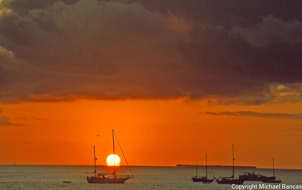 Sunset Pier Key West Harbor
