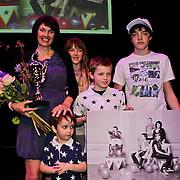 NLD/Amsterdam/20100414 - Uitreiking Mama van het Jaar 2010, Jessica de Kok