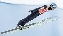 04.01.2015, Bergisel Schanze, Innsbruck, AUT, FIS Ski Sprung Weltcup, 63. Vierschanzentournee, Innsbruck, Probesprung, im Bild Michael Hayboeck (AUT) // Michael Hayboeck of Austria during the Trial Jump for the 63rd Four Hills Tournament of FIS Ski Jumping World Cup at the Bergisel Schanze in Innsbruck, Austria on 2015/01/04. EXPA Pictures © 2015, PhotoCredit: EXPA/ JFK