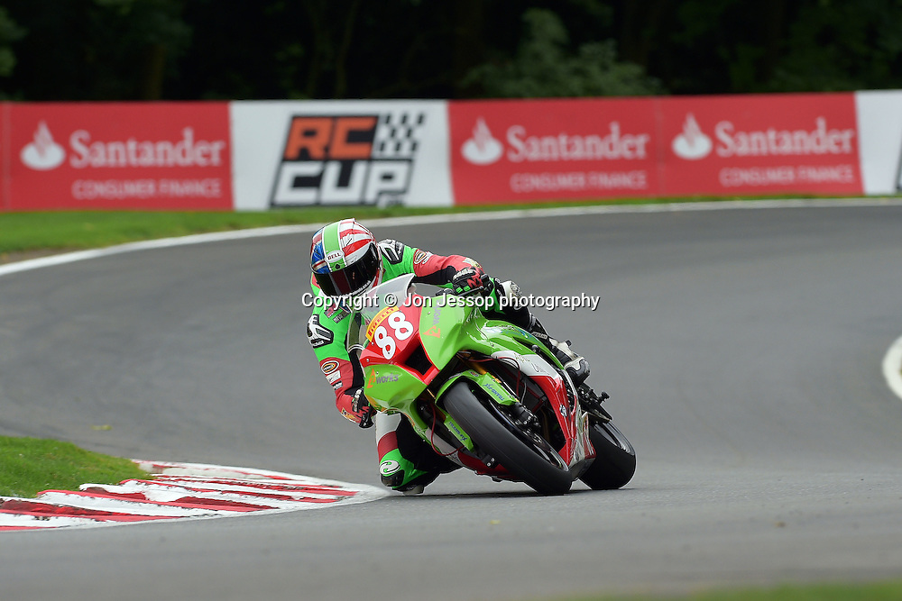 #88 Daniel Hegarty Downshift Motorsport Kawasaki Pirelli National Superstock 1000