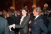 JACQUELINE DE RIBES; VALENTINO, Legion d'honneur awards. Elysee Palace, Presidence. Rue du Faubourg. 50 Rue de la Bienfaisance. Paris. 07 April 2010